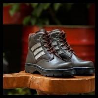 Terlaris Sepatu Safety Shoes Kickers Tactical Kulit Asli Ujung Besi 4