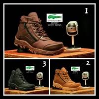 Terlaris Sepatu Pria Boots Safety Safety Steel Toe (Ujung Besi) -