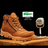 Terlaris Sepatu Safety Crocodile Delta Morisey Boots Sepatu Ujung Besi