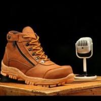 Terlaris Sepatu Boots Crocodile Morisey Safety Ujung Besi Sepatu Boots