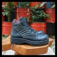 Terlaris Sepatu Pria Nike Grand Safety Boots Zipper Ujung Besi +