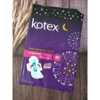 Kotex Soft and Smooth Overnight Wing PAG 28cm 14pcs