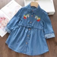 Baju/Dress Anak Perempuan - Casual Denim Dress