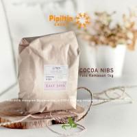 Pipiltin Cocoa NIBS 100gr origin EAST JAVA Biji Cokelat Cacao Nibs