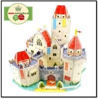 Mainan 3d Puzzle Eksklusif ADVENTUROUS CASTLE | Puzzle 3D Istana