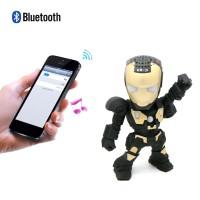 Terbaik Speaker Wireless Bluetooth Portable Bentuk Robot Iron Man