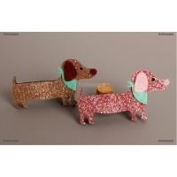 Promo Fashion Baby Hairpins Cute Cartoon Stereo Dog kids Hair Clips
