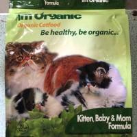 GOJEK im organic kitten baby mom 7 5kg imo 7 5 kg makanan kucing KB
