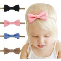 Promo 4pcs/set Fashion Cute Kids Children Girls Stretch Headband