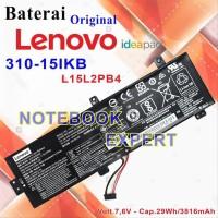 Baterai Laptop Lenovo Ideapad 310-15IkbL15L2Pb4 Original cpu