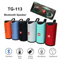 Terbaik TG 113 Speaker Wireless Bluetooth 3D 10W Stereo Anti Air