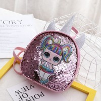 Promo LOL Bagpack Fashion Backpack Tas Travel /Tas Anak LOL Unicorn