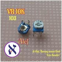 VR 10k variable resistor 103 trimpot trimmer 10 k ohm variabel