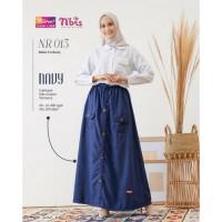 Rok Nibras NR 13 Original - Bawahan rok panjang muslim terbaru