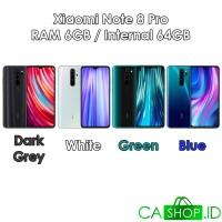 Xiaomi Redmi Note 8 Pro - 6GB 64GB (6/64) - New Baru Original Garansi - Dark Grey