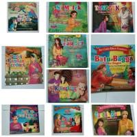 1 Paket 10 pcs Buku Anak Cerita Bergambar Seri Cerita Rakyat Nusantara