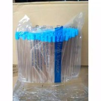 DENTAL SELANG SUCTION SALIVA EJECTOR CLEAR TRANSPARAN ISI 100