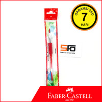 Grip Brush Faber Castell Merah (Kuas cat air)