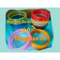 BUMPER KARET PELINDUNG BIOGLASS X BIOX JUMBO TEBAL AMAN FOOD GRADE