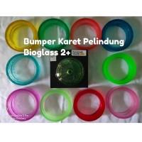 BUMPER KARET PELINDUNG BIOGLASS 2+ DS TEBAL AMAN BPA FREE FOOD GRADE