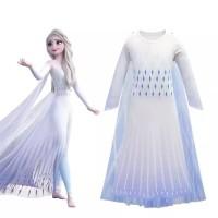 Kostum Putih Elsa Frozen 2 Princess