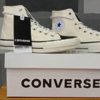 Converse 70s Hi Fear Of God Essentials Natural Natural Black - Putih, 40