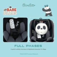 Carseat Cocolatte Full Phases We Bare Bears With Isofix WBB