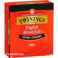Twinings Extra Strong English Breakfast Tea Bags 80 pack