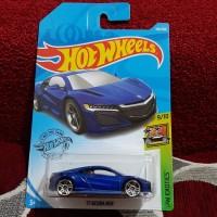 Hotwheels 17 Acura NSX hot wheels