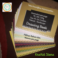 Drawing Book A4 200g