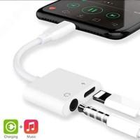 Splitter IPhone J-009 ( Support 1 charge dan 1 Music)