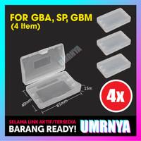 4PCS Cartridge Case Gameboy GBA SP GBM Casing kaset NINTENDO Covers