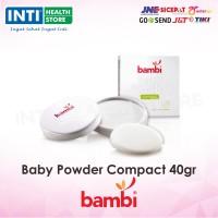 Bambi - Baby Powder Compact 40gr / Bedak Bayi / Bedak Padat Bayi