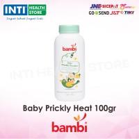 Bambi - Baby Powder Prickly Heat 100gr / Bedak Kulit Bayi/ Bedak Gatal