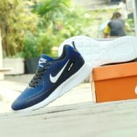 Sepatu Sport Casual Nike Airmax Zoom GRADE ORI - Biru Navy -
