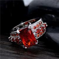 Perhiasan Cincin Batu Zircon. Ring Fashion Zircon Stone