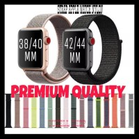 Strap Iwatch Sport Loop Woven Nylon Apple Watch 4 3 2 1 Tali Jam Apple