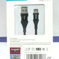 Kabel Charging Fast Data SYNC Type C VIVAN NC100cm 3A ORIGINAL