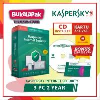 Antivirus Kaspersky Internet Security 2019 3 PC 2 Tahun Original li