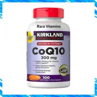 Kirkland Signature Coq10 300 Mg 100 Softgels Suplemen Jatung Obat