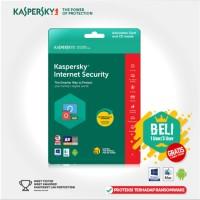 Kaspersky Internet Security 2018 Original Box - 3 PC 1 Tahun onderd