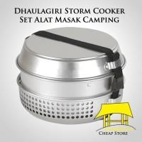 Dhaulagiri Storm Cooker Set Alat Masak Camping Kompor Spirtus like Tra