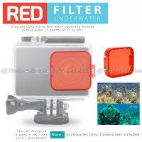 Underwater Filter Lens/ Lensa for Xiaomi Yi 4K/ Plus/ LITE/ Discovery