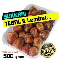 Kurma SUKKARI Basah 500 Gram - Sukari Daging TEBAL & Lembut