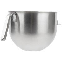 KitchenAid 7 Quart NSF Stainless steel J hook handle - KSMC7QB