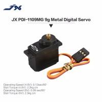 JX pdi-1109mg 9g Metal Gear Digital Servo 2.5Kg untuk RC Car 1/18