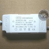 led driver high power led 40-50w hpl 1w 300ma 40-50 x 1w + box 220v Ac
