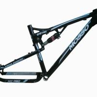 frame mosso alloy 651 pro hitam sepeda asli taiwan