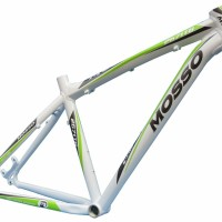 frame mosso alloy 2671TB putih hijau sepeda asli taiwan