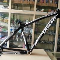 frame mosso alloy 2671TB hitam putih sepeda asli taiwan